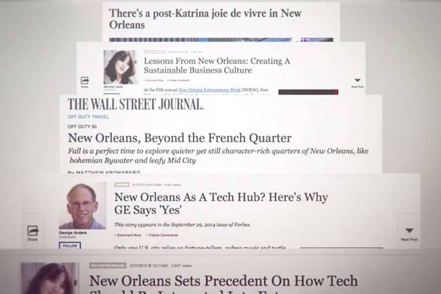 Greater New Orleans in the New Normal <span>Project Management, Video, Writing</span>